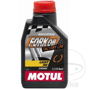Vorkolie 5W 1 liter Motul Synthese Light Road/Offroad