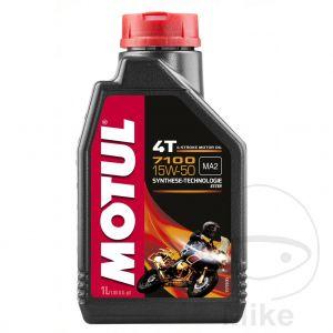 Motorolie 15W50 1 liter Motul 7100