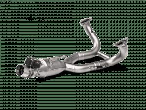 Akrapovic Optionele bochtenset (RVS) BMW R 1250 GS / ADVENTURE 2019-2021