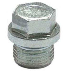 Lambda afdichtdop M18x1,5 staal zeskant