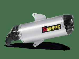 Akrapovic Slip-on Line (RVS) Aprilia SRV 850 2012-2016