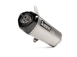 Akrapovic Slip-on Line (RVS) Vespa GTS 125/150 i.e Super 2009-2016