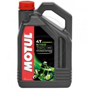 Motorolie 15W50 4 liter Motul 5100