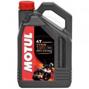 Motorolie 10W50 4 liter Motul 7100