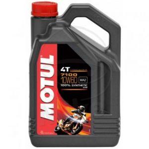 Motorolie 10W60 4 liter Motul 7100