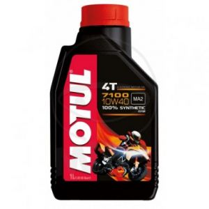 Motorolie 10W40 1 liter Motul 7100