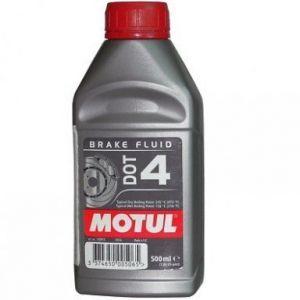 Motul remvloeistof DOT4 0,5 ltr