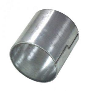 Uitlaat pasbus / spacer gegalvaniseerd 60-63,5 mm