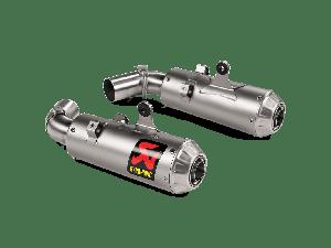Akrapovic Slip-on Line (Titanium) Ducati Hypermotard 950 / 950 SP 2019-2020