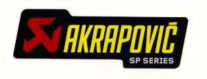 Akrapovic P-HST3ALSP hittebestendige sticker 26x90mm