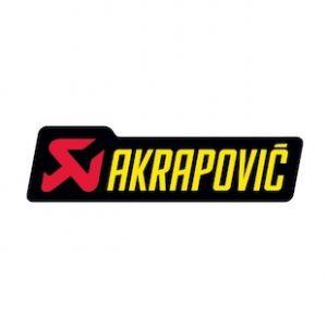 Akrapovic P-HST1AL hittebestendige sticker 53x180mm