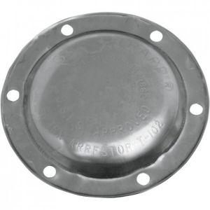 Supertrapp aluminium dichte eindkap 4 inch