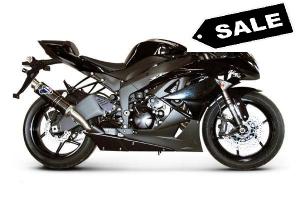 Termignoni Slip-On volledig Titanium - Kawasaki ZX6R 2009-2012