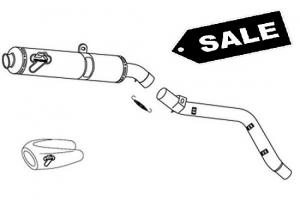 Termignoni Slip-On carbon UITVERKOOP - Honda CBR600RR 2007-2012