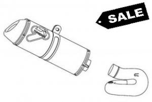 Termignoni Slip-On Titanium UITVERKOOP - Honda CBR1000RR Fireblade 2008-2013