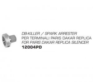 Arrow db-killer 12004PD voor diverse ParisDakar dempers