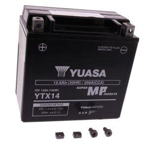 Motoraccu YTX14 Wet Yuasa