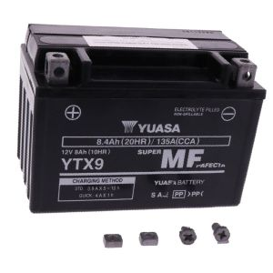 Motoraccu YTX9 Wet YUASA