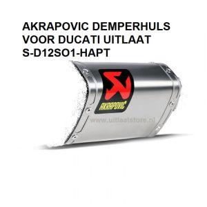 Titanium demperhuls voor de S-D12SO1-HAPT