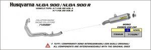Arrow Collector voor Ducati Multistrada 1200 / 1200S 2010 2014