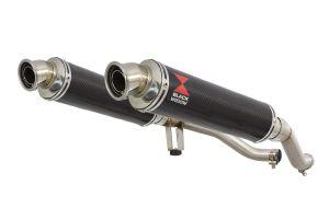 BWE Slip-On Carbon Rond 350mm voor GW 250 Inazuma-GW 250 S/F (USA)-GSR 250