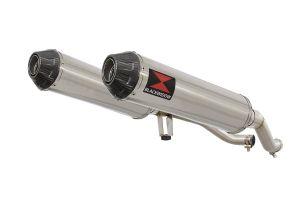 BWE Slip-On RVS Rond 370mm voor GW 250 Inazuma-GW 250 S/F (USA)-GSR 250