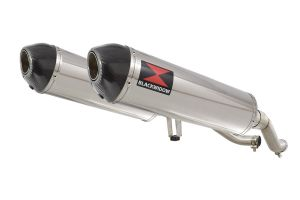 BWE Slip-On RVS Ovaal 400mm voor GW 250 Inazuma-GW 250 S/F (USA)-GSR 250
