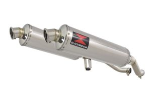 BWE Slip-On RVS Rond 400mm voor GW 250 Inazuma-GW 250 S/F (USA)-GSR 250
