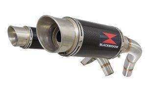 BWE Slip-On Carbon Rond 200mm voor ST1100 (SC26) Pan European 1989-2001
