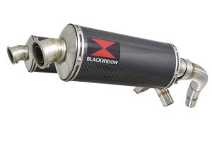 BWE Slip-On Carbon Ovaal 300mm voor ST1100 (SC26) Pan European 1989-2001
