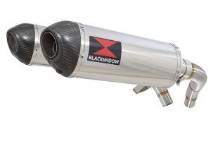 BWE Slip-On RVS Ovaal 300mm voor ST1100 (SC26) Pan European 1989-2001