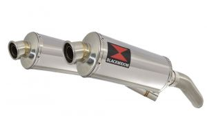 BWE Slip-On RVS Ovaal 300mm voor ST1300 Pan European (SC51) ABS/TCS 2002