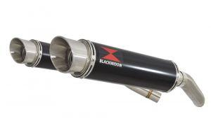 BWE Slip-On Zwart RVS Rond 360mm voor ST1300 Pan European (SC51) ABS/TCS 2002