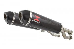 BWE Slip-On Carbon Ovaal 400mm voor V-MAX 1200 1984-2007