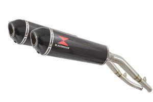 BWE Slip-On Carbon Ovaal 400mm voor XL1000V Varadero 1999-2014