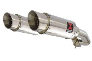 BWE Slip-On RVS Rond 200mm voor XT 660 Z Tenere 2008-2017
