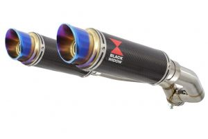 BWE Slip-On Carbon Rond 230mm voor XT 660 Z Tenere 2008-2017