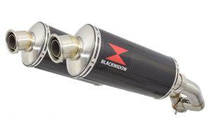 BWE Slip-On Carbon Ovaal 300mm voor XT 660 Z Tenere 2008-2017