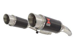BWE Slip-On Carbon Rond 200mm voor ZZR400 K1-N7 1990-1999-ZZR600 D1-D3 1990