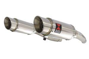 BWE Slip-On RVS Rond 200mm voor ZZR400 K1-N7 1990-1999-ZZR600 D1-D3 1990