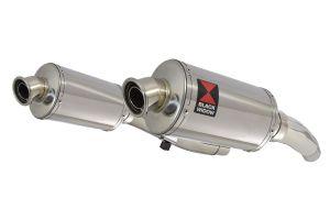BWE Slip-On RVS Ovaal 230mm voor ZZR400 K1-N7 1990-1999-ZZR600 D1-D3 1990