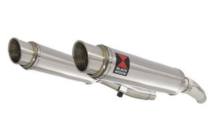BWE Slip-On RVS Rond 350mm voor ZZR400 K1-N7 1990-1999-ZZR600 D1-D3 1990