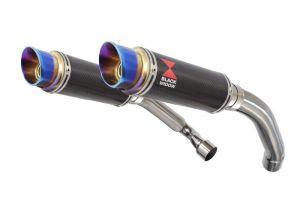 BWE Slip-On Carbon Rond 230mm voor CBR1000F (SC24) 1989-1999 FK FL FM FN