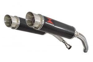 BWE Slip-On Carbon Rond 360mm voor CBR1000F (SC24) 1989-1999 FK FL FM FN