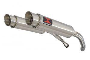 BWE Slip-On RVS Rond 360mm voor CBR1000F (SC24) 1989-1999 FK FL FM FN
