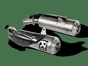 Akrapovic Slip-on Line (Titanium) Ducati Scrambler 1100 2018-2020