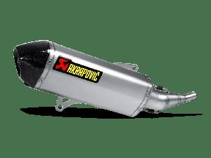 Akrapovic Slip-on Line (RVS) Yamaha X-CITY 250 2007-2016