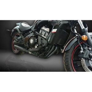 Delkevic volledig systeem Round RVS 550mm - Vulcan S EN650A (2015-2020)