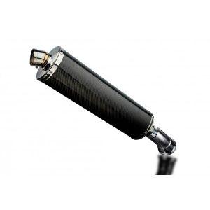 Delkevic slip-on kit Oval Carbon 450mm - Hyperstrada/Hypermotard 821 939 13-18