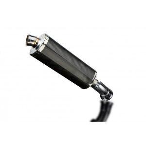 Delkevic slip-on kit Oval Carbon 350mm - Hyperstrada/Hypermotard 821 939 13-18